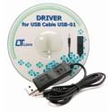 CAVO USB USB01 PER FONOMETRO