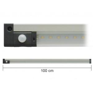 BARRA A LED 12 V 10 W 1 M CON SENSORE PIR