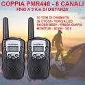 RICETRASMETTITORI RTX PORTATILI PMR446 - COPPIA