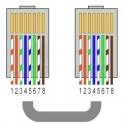 spina rj45 schermata per cat.6