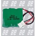 BATTERIE  NI-MH 3,6 V 350 MA/H