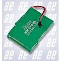 batteria ricaricabile 3,6v 550ma/h