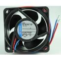 VENTOLA  ASSIALE 24VDC 60X60X25 SU CUSCINETTI MARCA EBM PAPST MOD. 624N