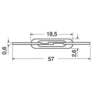 Ampolla interruttore REED 1 lavoro contatto magnetico normalmente aperto 40W 2A
