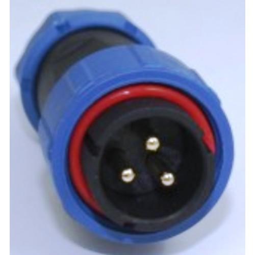 Connettori circolari stagni IP68 serie SP  2, 3, 4, 5 poli
